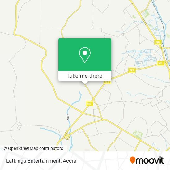 Latkings Entertainment map