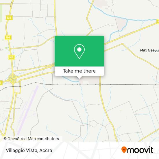 Villaggio Vista map