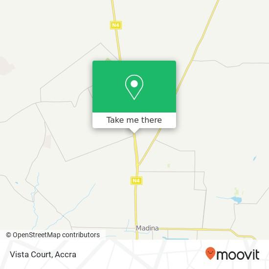 Vista Court map