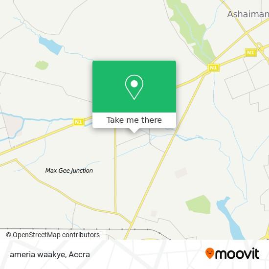 ameria waakye map
