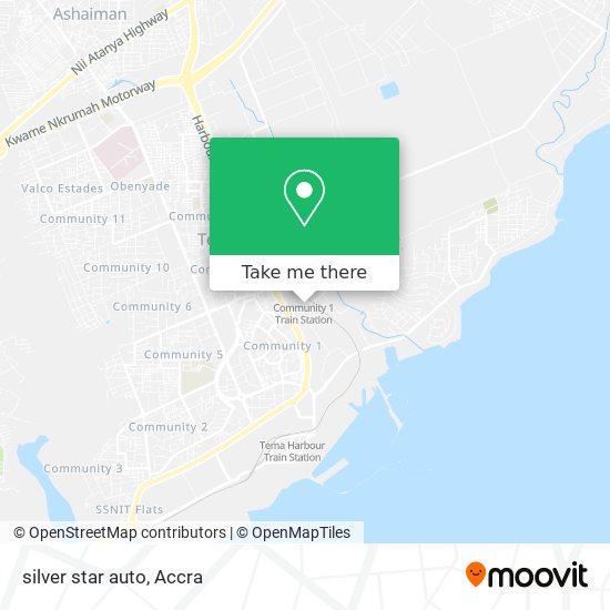 silver star auto map