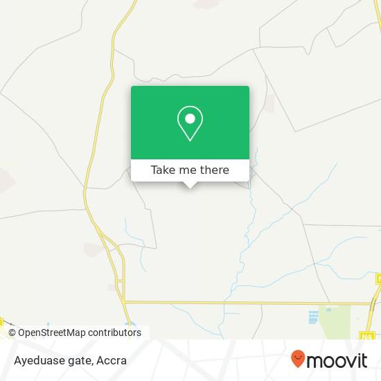 Ayeduase gate map