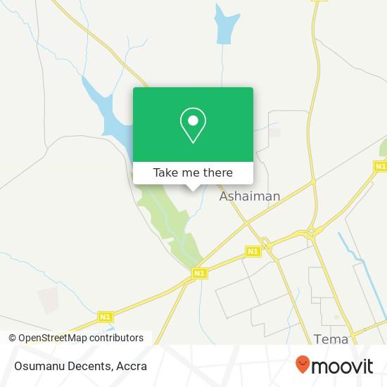 Osumanu Decents map