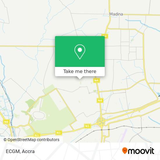 ECGM map