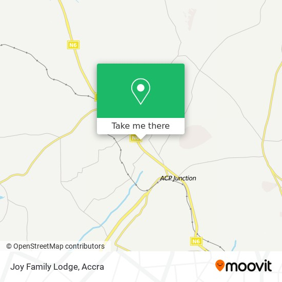 Joy Family Lodge map