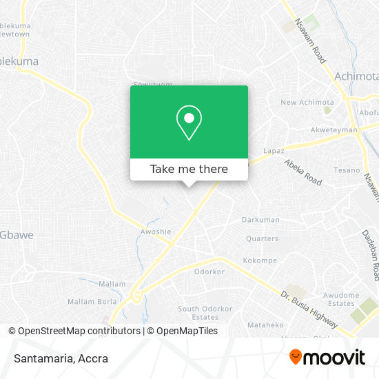 Santamaria map