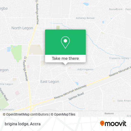 brigina lodge map