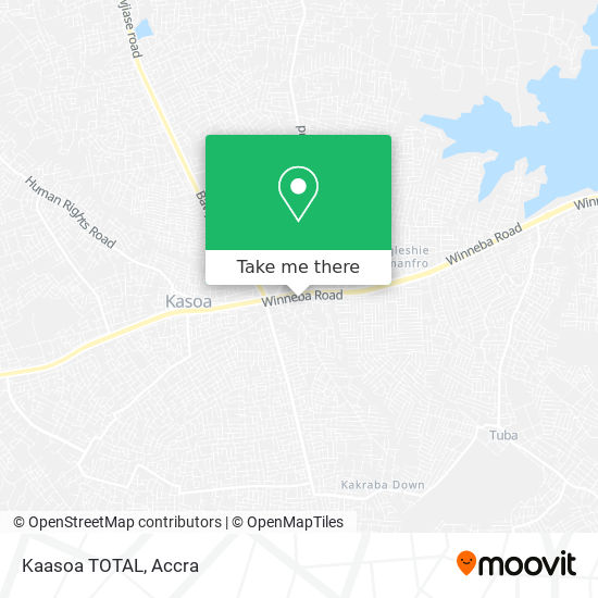 Kaasoa TOTAL map