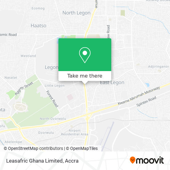 Leasafric Ghana Limited map