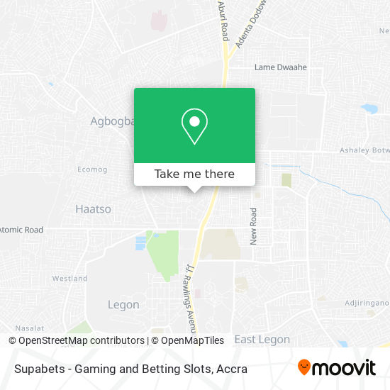 Supabets - Gaming and Betting Slots map