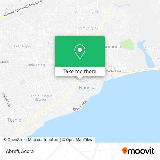Abrefi map