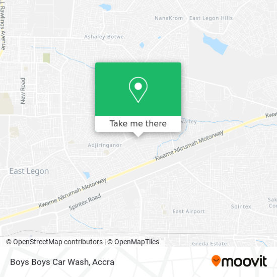 Boys Boys Car Wash map