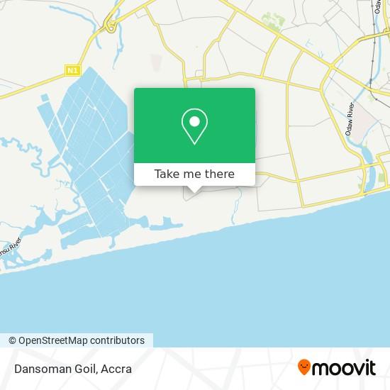 Dansoman Goil map