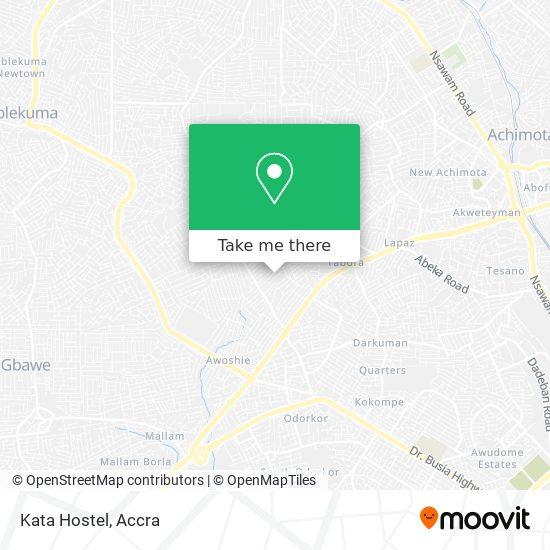 Kata Hostel map