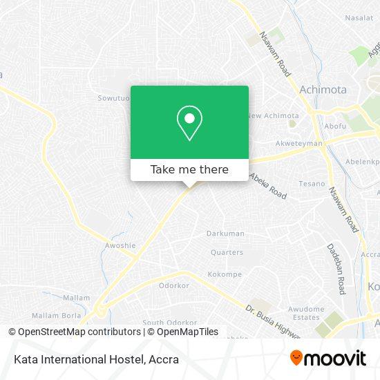 Kata International Hostel map