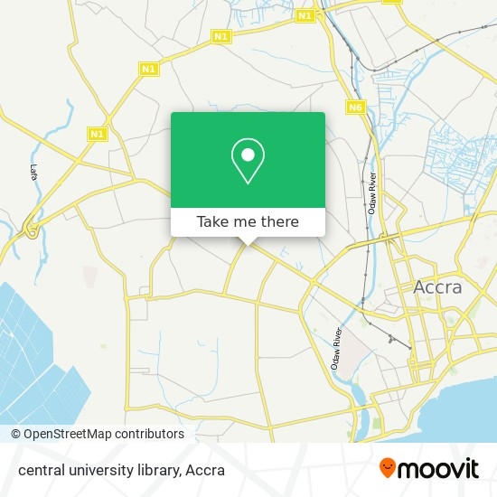 central university library map