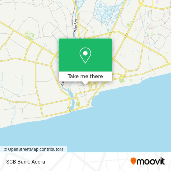 SCB Bank map