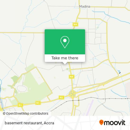 basement restaurant map