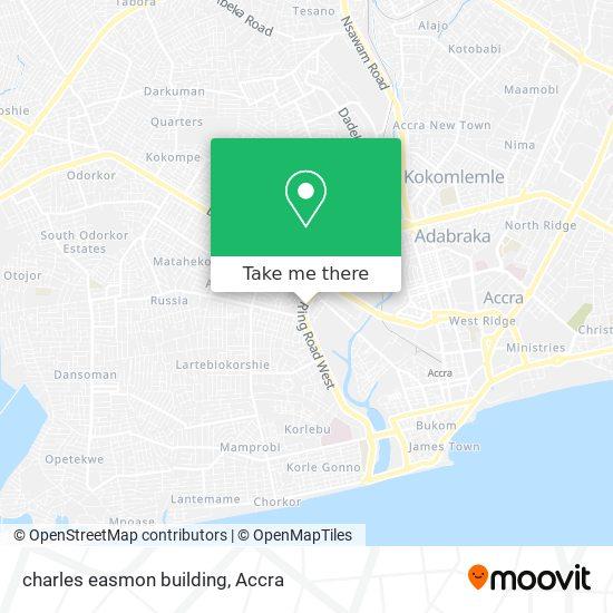 charles easmon building map