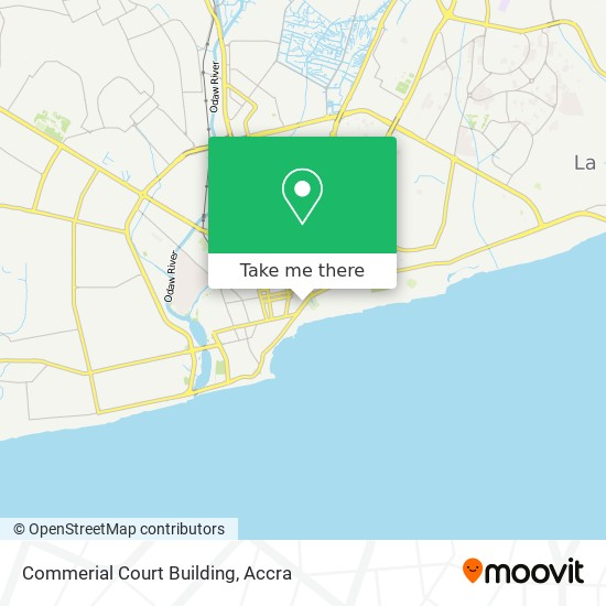 Commerial Court Building map