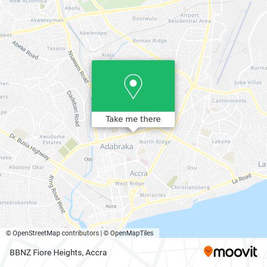 BBNZ Fiore Heights map