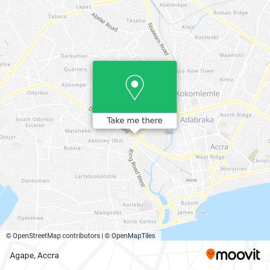 Agape map