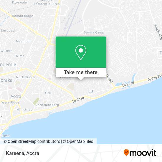 Kareena map