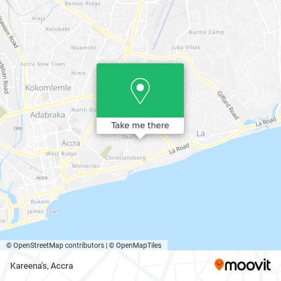 Kareena's map