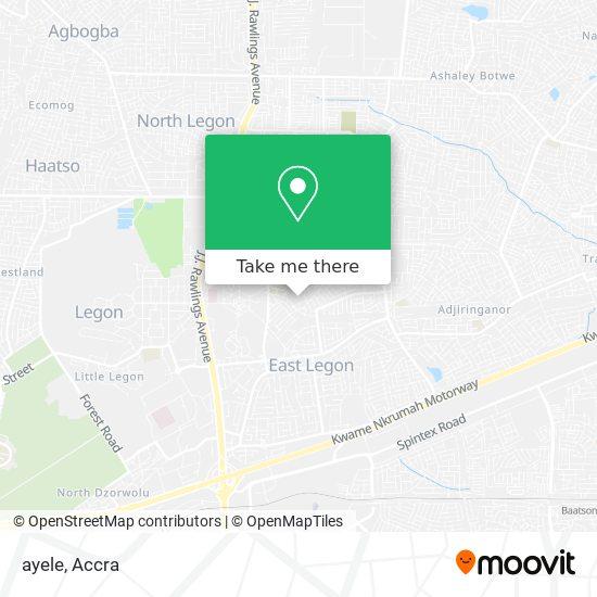 ayele map