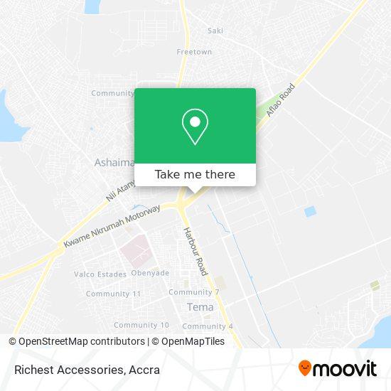 Richest Accessories map