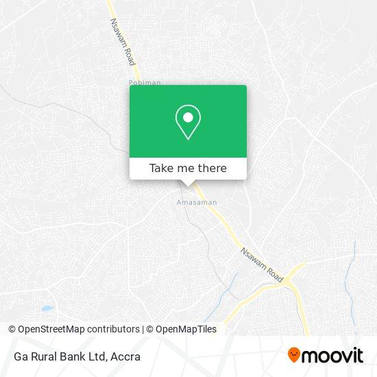 Ga Rural Bank Ltd map