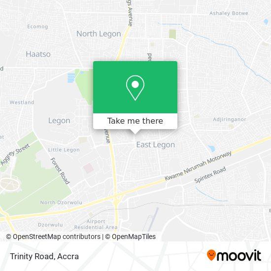 Trinity Road map