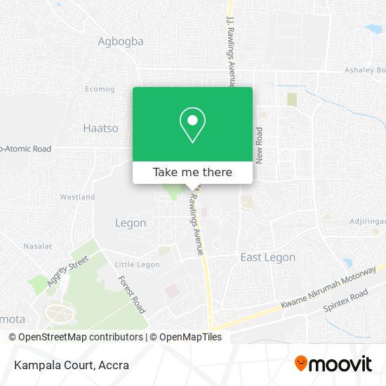 Kampala Court map