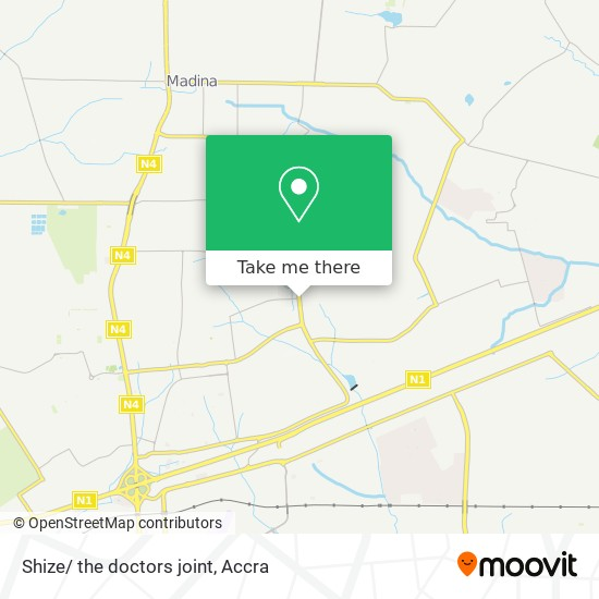 Shize/ the doctors joint map
