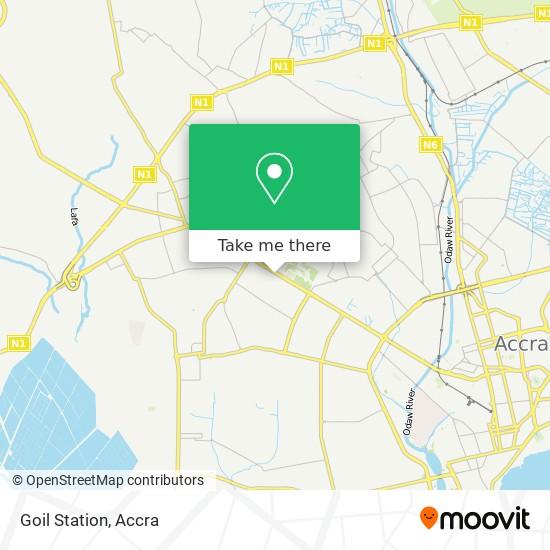 Goil Station map