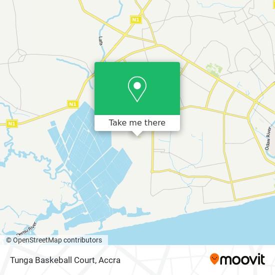Tunga Baskeball Court map