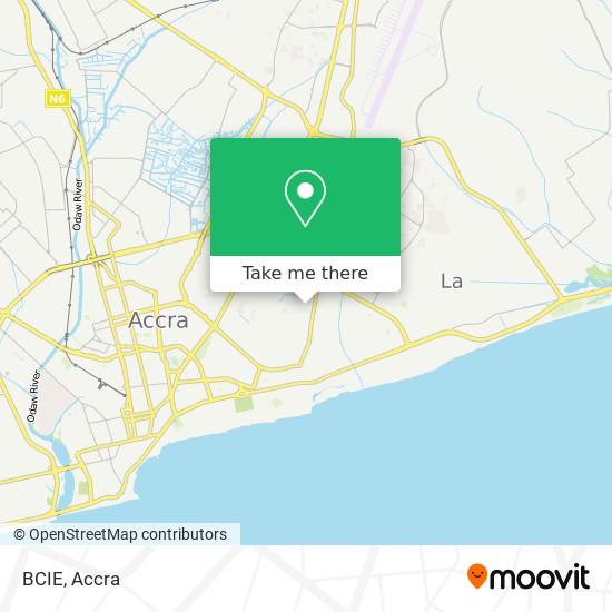 BCIE map