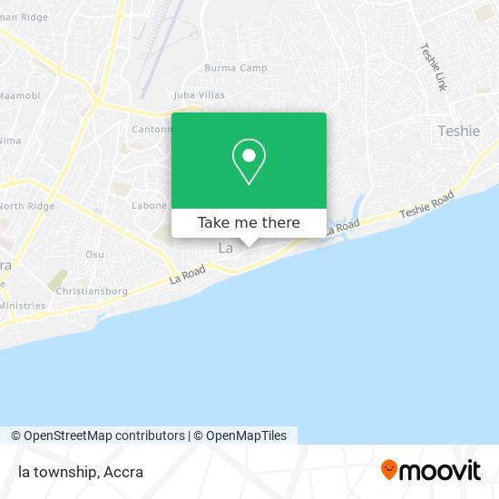 la township map