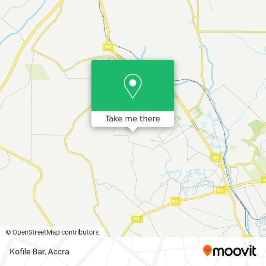 Kofile Bar map