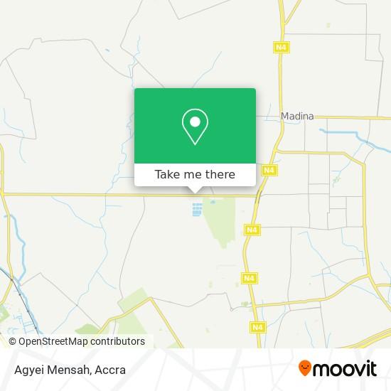 Agyei Mensah map