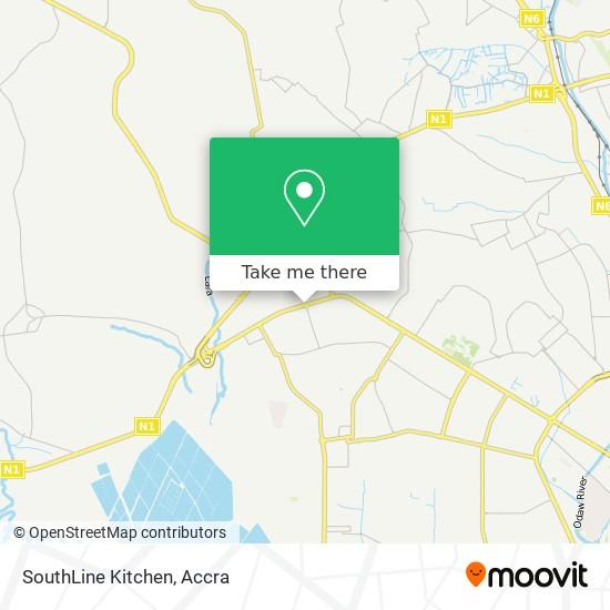 SouthLine Kitchen map