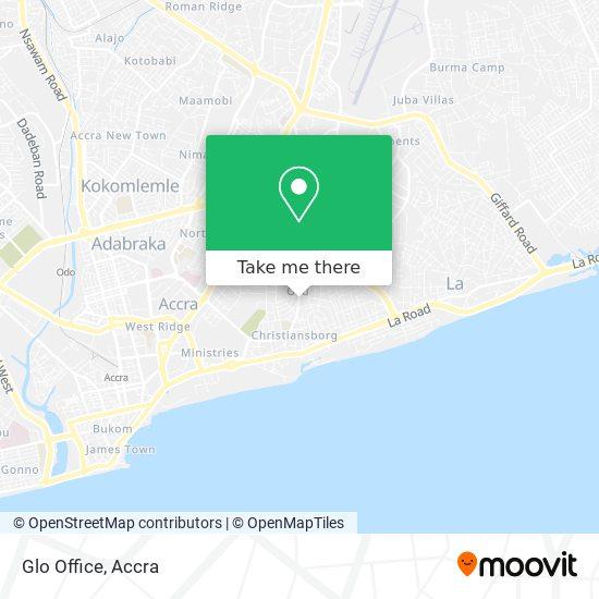 Glo Office map