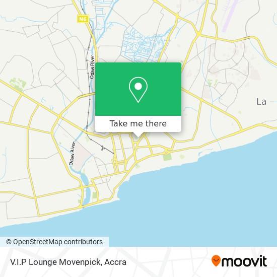 V.I.P Lounge Movenpick map