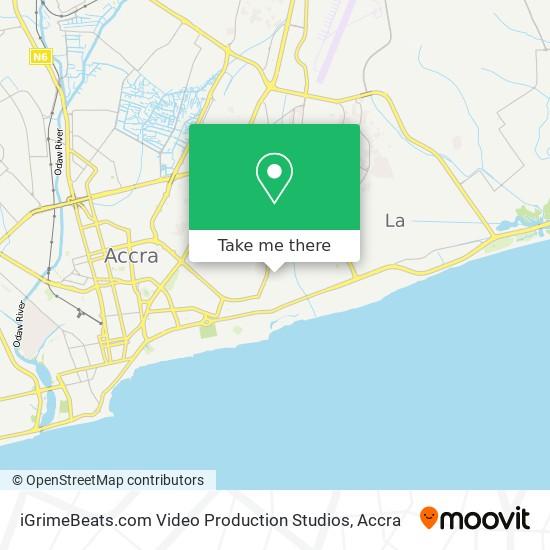 iGrimeBeats.com Video Production Studios map