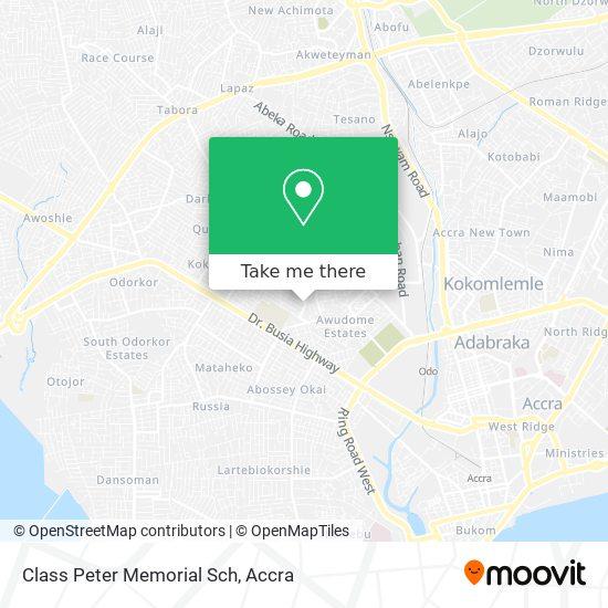 Class Peter Memorial Sch map