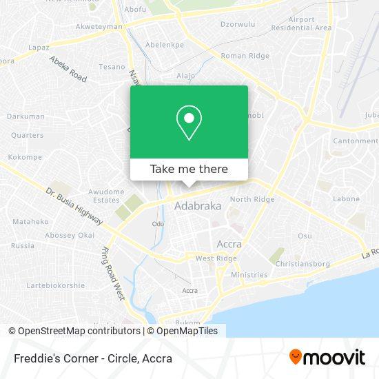Freddie's Corner - Circle map