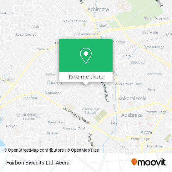 Fairbon Biscuits Ltd map