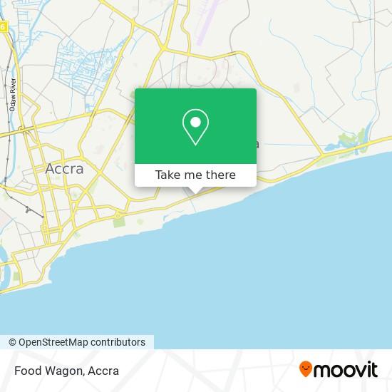 Food Wagon map