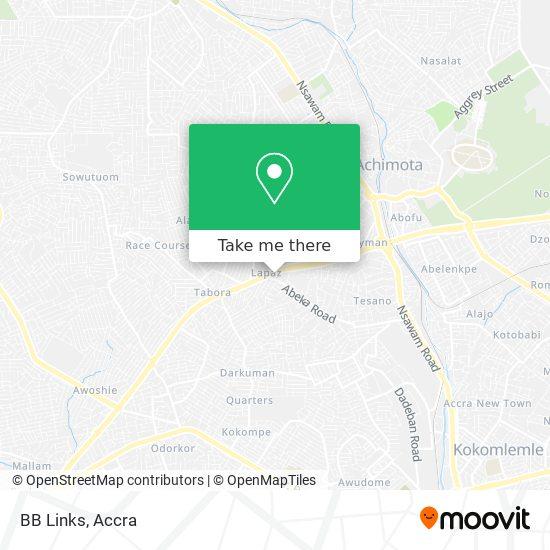 BB Links map