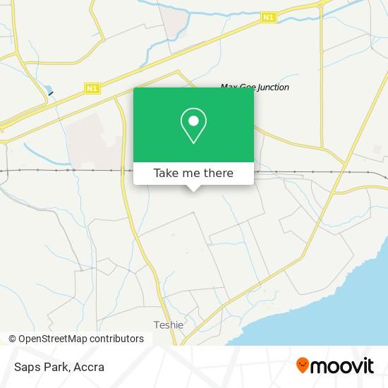 Saps Park map